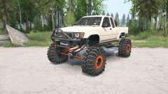 Toyota Hilux Xtra Cab 1991 crawler for MudRunner