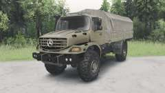 Mercedes-Benz Zetros 1833 A for Spin Tires