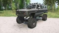 Chevrolet Suburban 1988 lifted for MudRunner