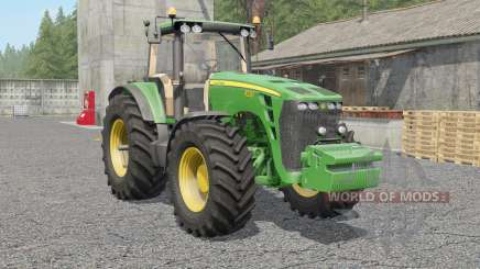 John Deere 8130〡8230〡8330〡8430〡85ƺ0 for Farming Simulator 2017