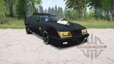 Ford Falcon GT Pursuit Special V8 Interceptor for MudRunner