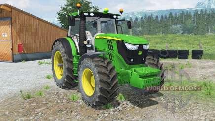 John Deere 6170R & 6210Ɍ for Farming Simulator 2013