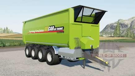 Peecon Cargo 92000 for Farming Simulator 2017