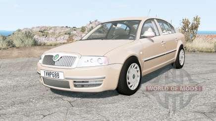Skoda Superb (3U) 2006 for BeamNG Drive