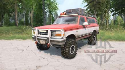 Ford F-150 Regular Cab XLT 1992 for MudRunner