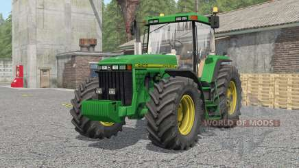 John Deere 8100〡8200〡8300〡8400〡8410 for Farming Simulator 2017