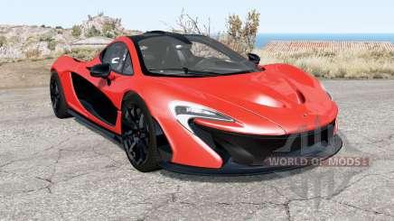 McLaren P1 2014 for BeamNG Drive
