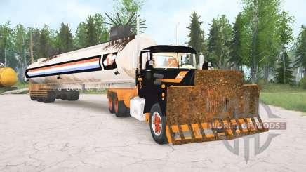 Mack R600 The Tanker for MudRunner