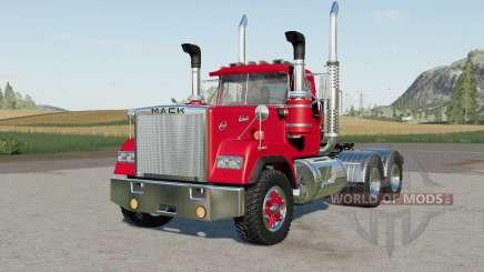 Mack Super-Liner Day Caᵬ for Farming Simulator 2017