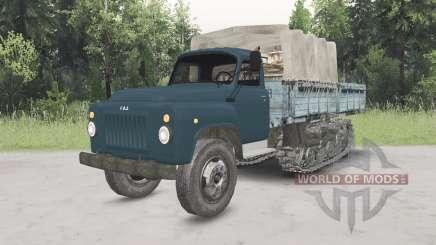 GAZ-53 half-track for Spin Tires