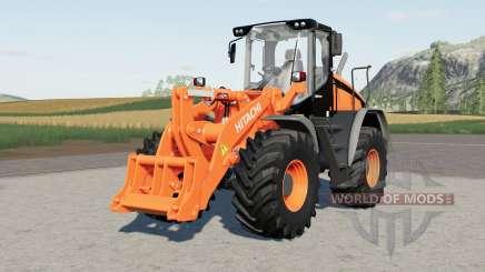 Hitachi ZW220 for Farming Simulator 2017