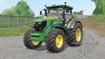 John Deere 6R-serieᶊ for Farming Simulator 2017