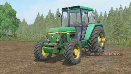 John Deere 30ろ0 for Farming Simulator 2017