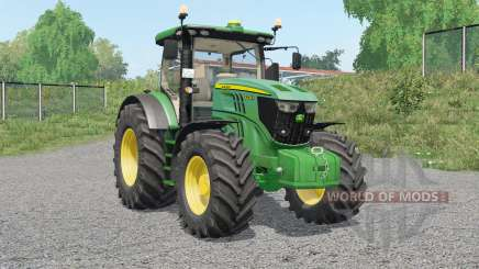 John Deere 6R-serieꞩ for Farming Simulator 2017