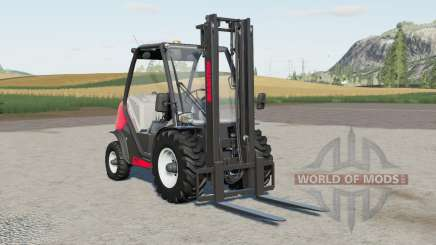 Manitou MC 18-4 with tensionbelt support for Farming Simulator 2017