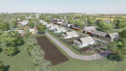 The village of Berry v2.2.9 for Farming Simulator 2017