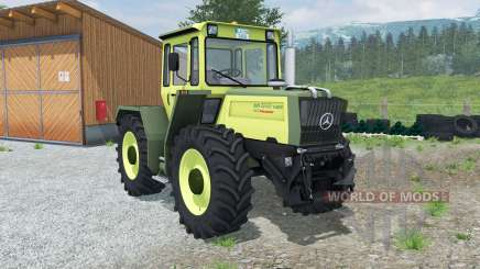 Mercedes-Benz Trac 1400 Turbo Intercooler for Farming Simulator 2013