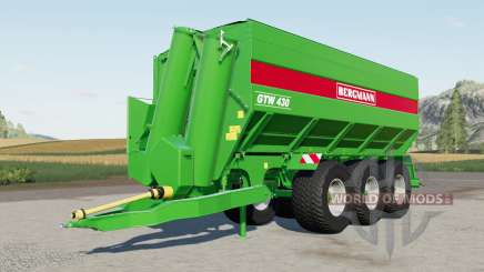 Bergmann GTW 4ろ0 for Farming Simulator 2017
