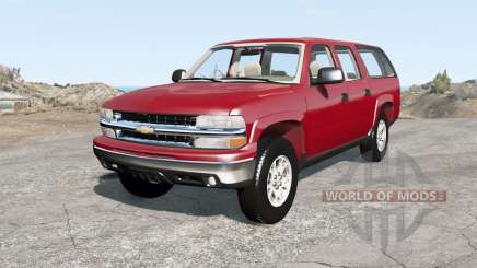 Chevrolet Suburban Z71 (GMT800) for BeamNG Drive