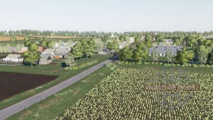 The village of Berry v2.3 for Farming Simulator 2017