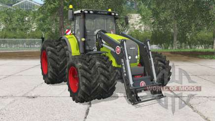Claas Axion 830 front loader for Farming Simulator 2015