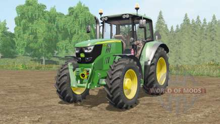 John Deere 6115M〡6135M〡6155Ɱ for Farming Simulator 2017