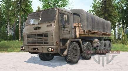 KrAZ-2E-6305 for MudRunner