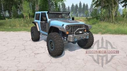 Jeep Wrangler (JK) 2017 Trailcat for MudRunner