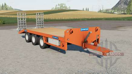 Chieftain Low Loader for Farming Simulator 2017