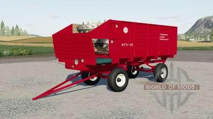 KTU-10 for Farming Simulator 2017