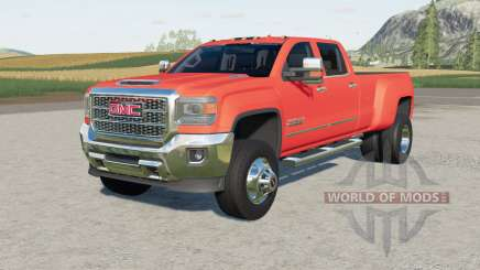 GMC Sierra 3500 HD Denali Crew Cab 2015 for Farming Simulator 2017