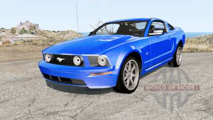 Ford Mustang GT 2005 for BeamNG Drive