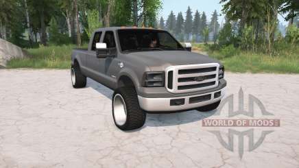 Ford F-350 Crew Cab 2005 for MudRunner