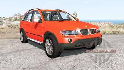BMW X5 (E53) 2002 for BeamNG Drive