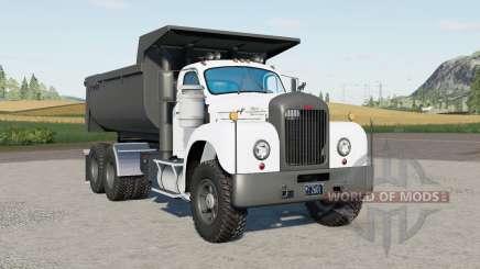 Mack B61 dump truck 1963 for Farming Simulator 2017