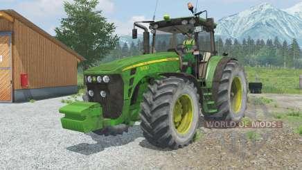 John Deere 84ろ0 for Farming Simulator 2013
