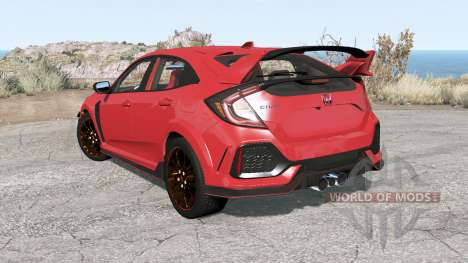 Honda Civic Type R (FK) 2018 for BeamNG Drive
