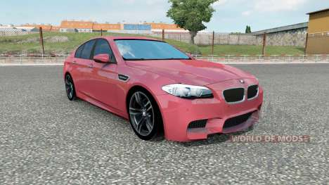 BMW M5 (F10) 2012 for Euro Truck Simulator 2