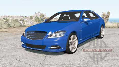 Mercedes-Benz S 600 (W221) 2009 for BeamNG Drive