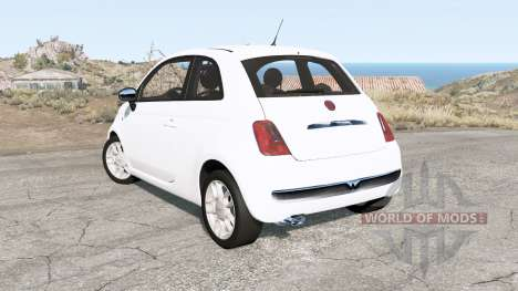 Fiat 500 (312) 2007 for BeamNG Drive