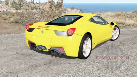 Ferrari 458 Italia 2010 for BeamNG Drive