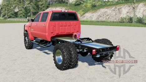 Chevrolet Silverado 4500 HD tractor truck for Farming Simulator 2017