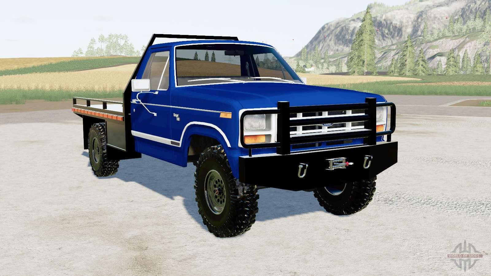 Ford F 150 1983 Flatbed V1 2 For Farming Simulator 2017