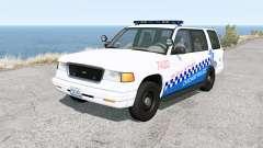 Gavril Roamer Chicago Police v1.31 for BeamNG Drive