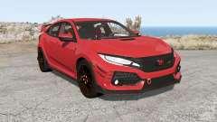 Honda Civic Type R (FK) 2018 for BeamNG Drive