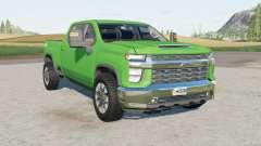 Chevrolet Silverado 2500 HD Crew Cab 2020 for Farming Simulator 2017