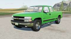 Chevrolet Silverado 1500 Extended Cab 1999 for Farming Simulator 2017