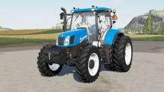 New Holland T6.110 & T6.130 for Farming Simulator 2017