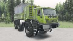 KamAZ-6345 Arctic for Spin Tires