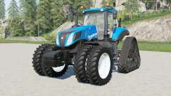 New Holland T8-series U.S. Configuration for Farming Simulator 2017